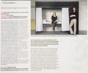 Social-Unit interview De Volkskrant
