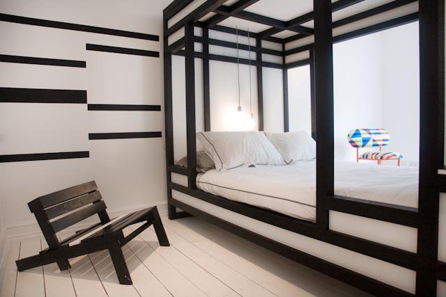 Social-Unit plastic Loft Bed