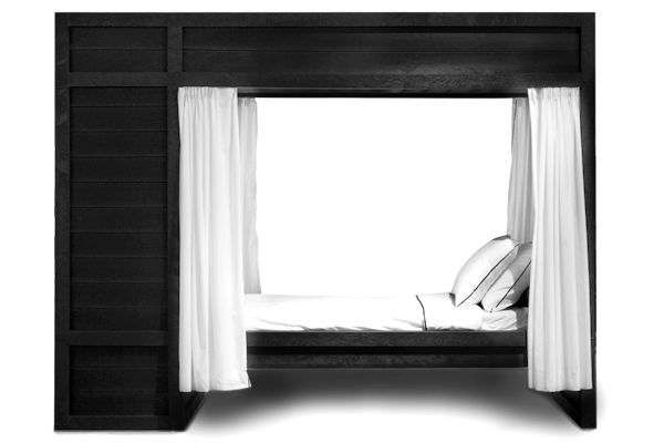 Social-Unit single bedstee